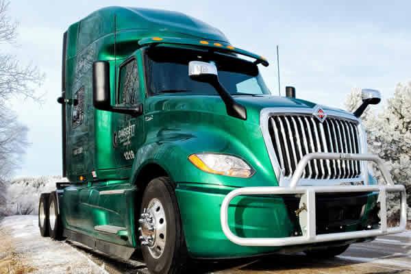 Daggett Truck Line Inc. has great trucks and equipment.