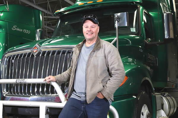 Working at Daggett Truck Line Inc. has rewarding benefits.