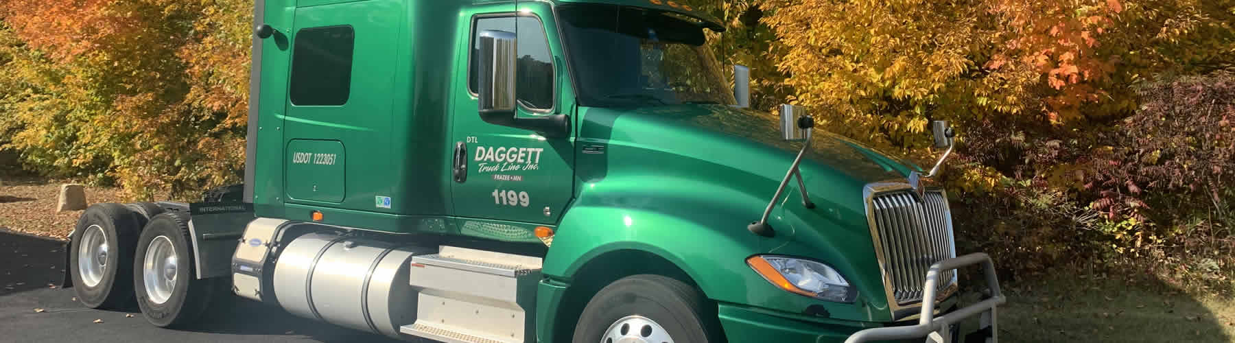 Daggett Truck Line Inc. offers excellent transportation and trucking services.