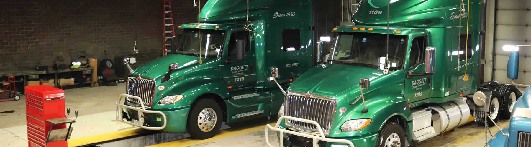 Information about Daggett Truck Line of Frazee, Minnesota and Clearwater, Minnesota.
