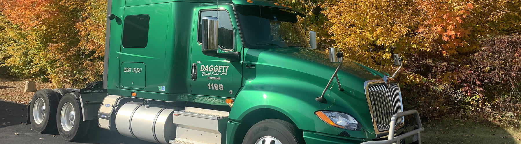 Daggett Truck Line Inc. has a history of trucking services in Minnesota and beyond.