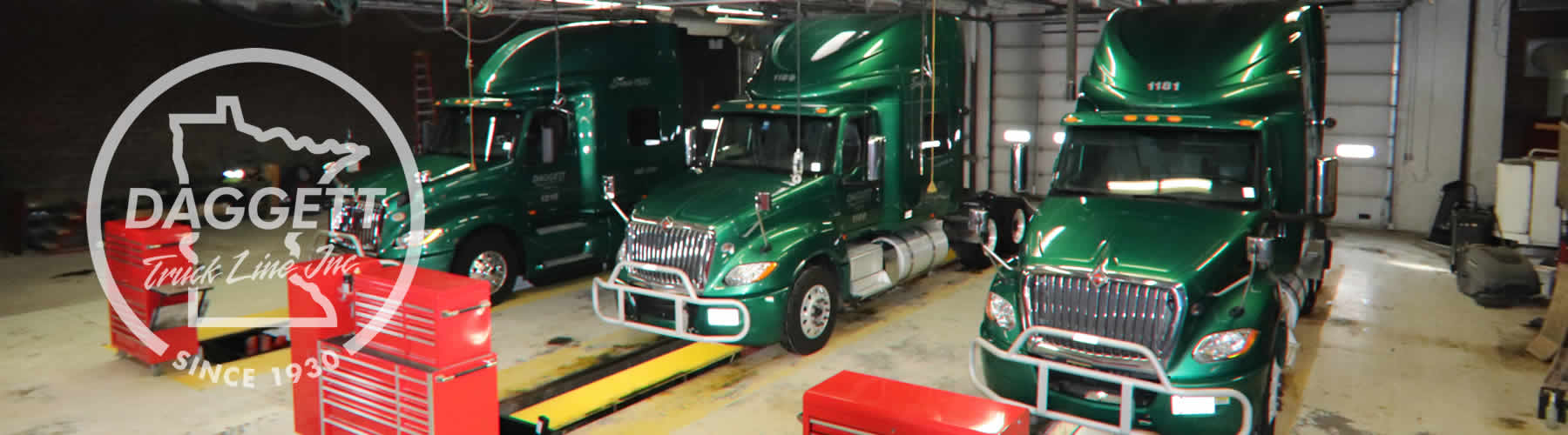 Contact Daggett Truck Line Inc. of Frazee and Clearwater, Minnesota.