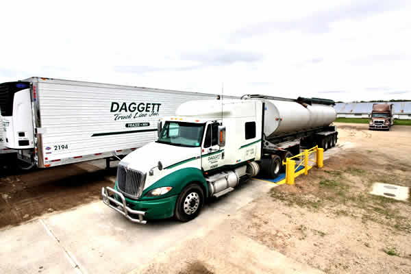Weigh Scale available at Daggett Truck Line Inc.